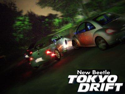 New Beetle Drift